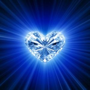 corazón radiante
