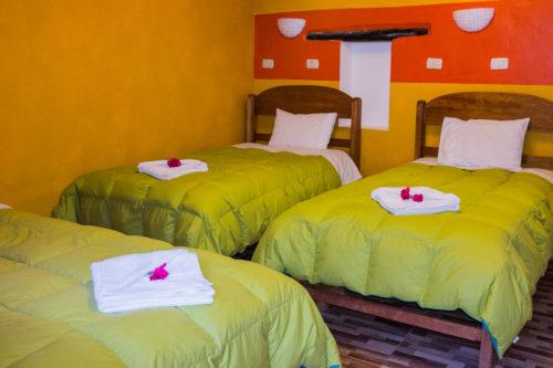Hotel- chambre-triple-Ollantaytambo